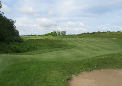 Whistling Straits Irish Course Hole 7 Green View
