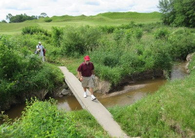 Whistling Straits Irish Course Hole 8 Bridge