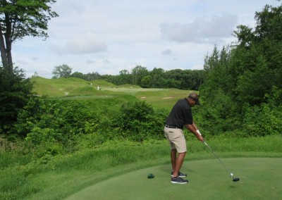 Whistling Straits Irish Course Hole 8 Tee Eric Wills