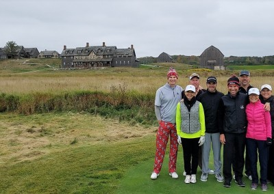 EHGE 2017 Erin Hills Hole 1 Group Shot
