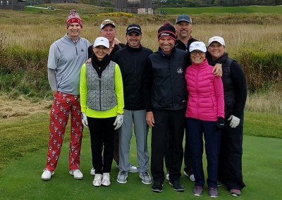 EHGE 2017 Erin Hills Hole 1 Group Shot Cropped