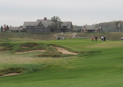 EHGE 2017 Erin Hills Hole 18 Approach