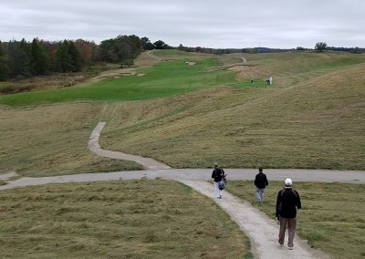 EHGE 2017 Erin Hills Hole 3 Fairway