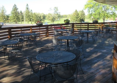 Fox Hills Resort Restaurant Patio