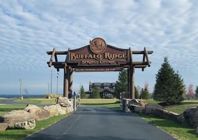 Buffalo Ridge Entrance