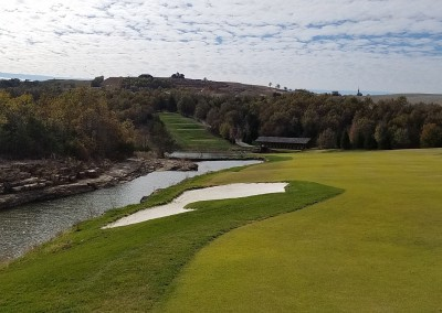 Buffalo Ridge Hole 15 Green View