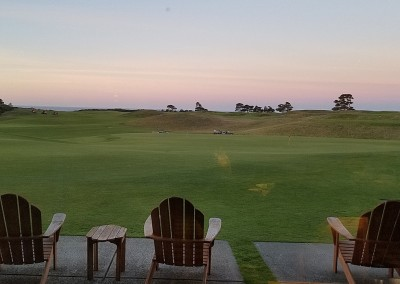 Bandon Dunes Clubhouse Breakfast View