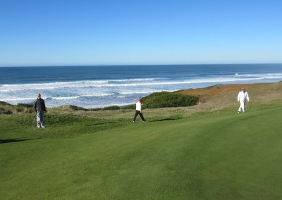 Bandon Dunes Hole 15 Par 3 Green View