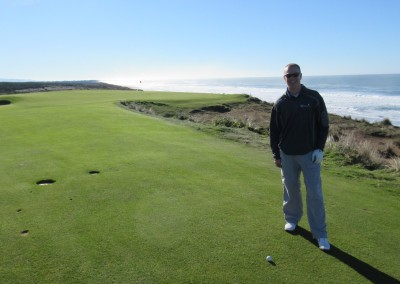 Bandon Dunes Hole 16 Approach JB