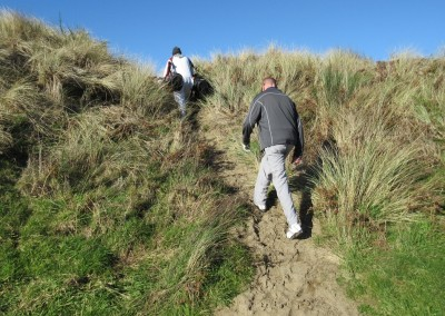 Bandon Dunes Hole 16 Tee Path