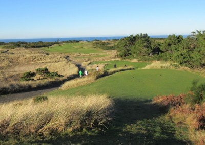 Bandon Dunes Hole 3 Back Tee