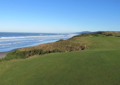 Bandon Dunes Hole 4 Green View