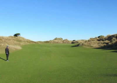 Bandon Dunes Hole 5 Approach