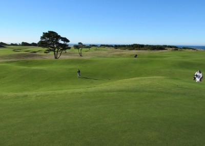 Bandon Dunes Hole 7 Green View