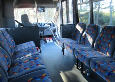 Bandon Dunes Resort Shuttle Interior