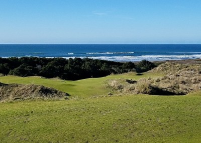 Bandon Preserve Hole 5 Ocean View
