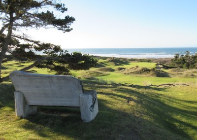Bandon Preserve Hole 9 Bench