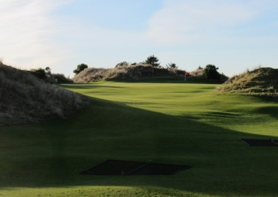Bandon Trails Hole 1 Approach