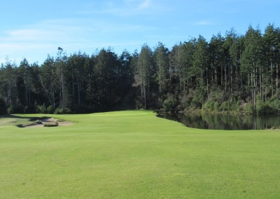 Bandon Trails Hole 11 Approach