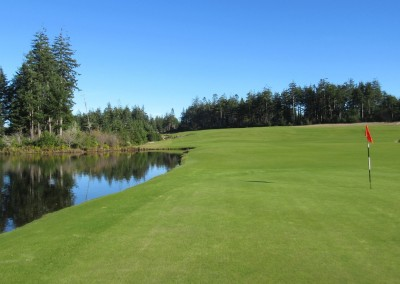 Bandon Trails Hole 11 Green View