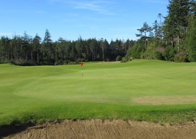Bandon Trails Hole 12 Green