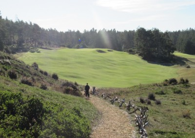 Bandon Trails Hole 14 Path