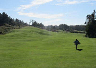 Bandon Trails Hole 16 Backwards