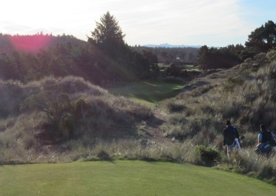Bandon Trails Hole 2 Par 3 Tee