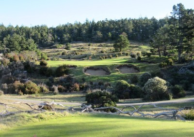 Bandon Trails Hole 5 Par 3  Forward Tee