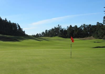 Bandon Trails Hole 6 Green