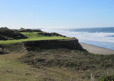Pacific Dunes Hole 11 Par 3 Green View