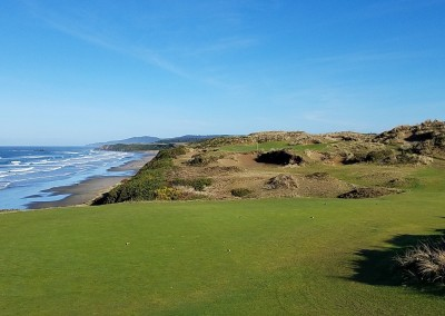 Pacific Dunes Hole 11 Par 3 Tee Shot