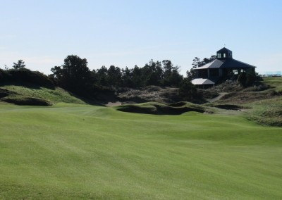 Pacific Dunes Hole 18 Approach