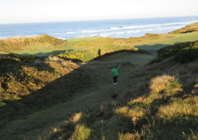 Pacific Dunes Hole 3 Green Chip