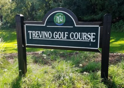 Geneva National Golf Resort Trevino Course Sign