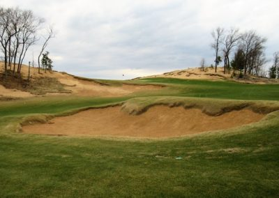 Sand Valley Resort Mammoth Dunes Golf Course Hole 10 Approach