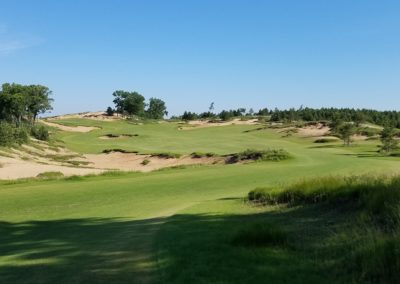 Sand Valley Resort Mammoth Dunes Golf Course Hole 10 Tee