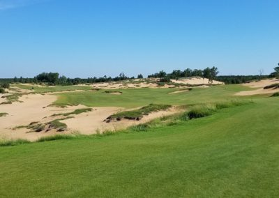 Sand Valley Resort Mammoth Dunes Golf Course Hole 11 Tee