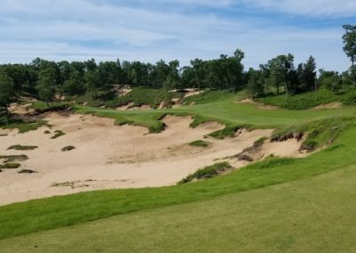 Sand Valley Resort Mammoth Dunes Golf Course Hole 13 Par 3 Tee