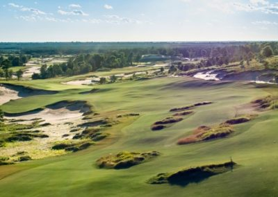Sand Valley Resort Mammoth Dunes Golf Course Hole 14 Stock GR