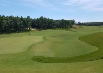 Sand Valley Resort Mammoth Dunes Golf Course Hole 15 Green