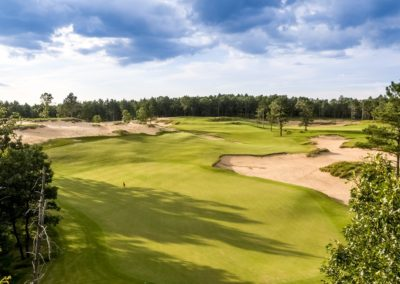 Sand Valley Resort Mammoth Dunes Golf Course Hole 16 Par 3 Green View STOCK