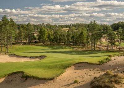 Sand Valley Resort Mammoth Dunes Golf Course Hole 16 Par 3 Tee STOCK