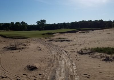 Sand Valley Resort Mammoth Dunes Golf Course Hole 2 Pathway