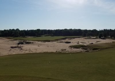 Sand Valley Resort Mammoth Dunes Golf Course Hole 2 Tee