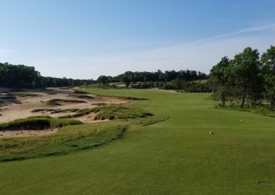 Sand Valley Resort Mammoth Dunes Golf Course Hole 3 Tee