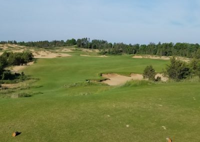 Sand Valley Resort Mammoth Dunes Golf Course Hole 5 Tee
