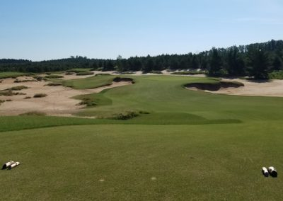 Sand Valley Resort Mammoth Dunes Golf Course Hole 8 Par 3 Tee