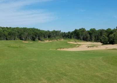 Sand Valley Resort Mammoth Dunes Golf Course Hole 9 Tee
