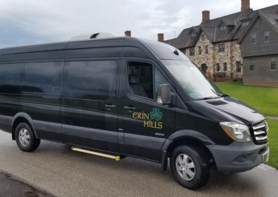 Erin Hills Golf Course Shuttle Van